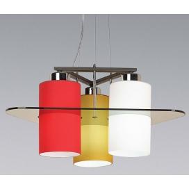 Luma Μοντέρνο Τρίφωτο Φωτιστικό Οροφής (105-02276-07)