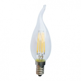 Λάμπα Cog Led Decor Tip 4W E14 4000K (DECO4NWTIP)