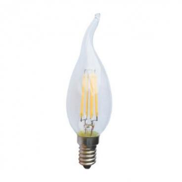 Λάμπα COG LED Decor Tip 4W E14 2700K Dimmable