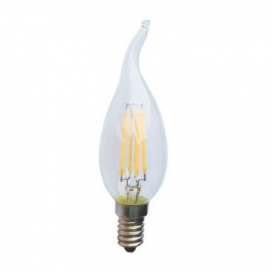 Λάμπα COG LED Decor Tip 4W E14 4000K Dimmable