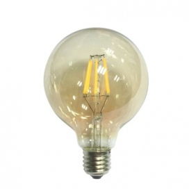 Λάμπα Cog Led Amber Globe Ø95 6W E27 2700K Dimmable