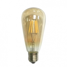 Λάμπα Cog Led Amber Edison 6W E27 2700K Dimmable