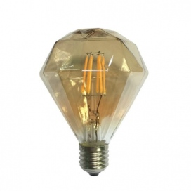 Λάμπα Cog Led Amber Decorative 6W E27 2700K Dimmable (CON956WWDIMAM)