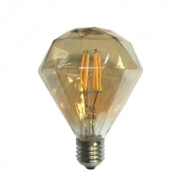 Λάμπα Cog Led Amber Decorative 6W E27 2700K Dimmable