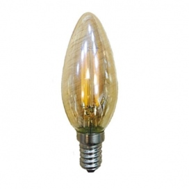 Λάμπα COG LED Amber Decor 4W E14 2700K Dimmable (DECO4WWDIMAM)