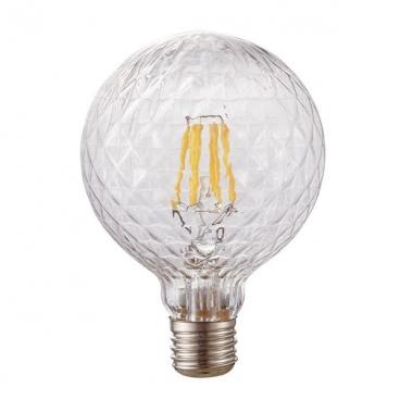 Λάμπα COG LED Poc Ø95 6W E27 2700K Dimmable