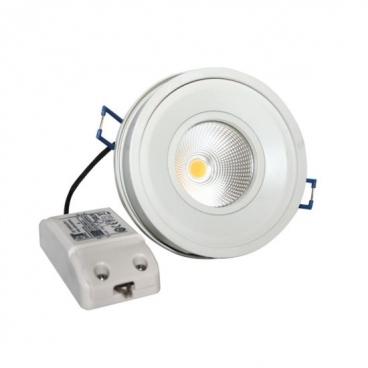 LED COB χωνευτό κινητό φωτιστικό οροφής 10W 60° 6400K (BEL1064)
