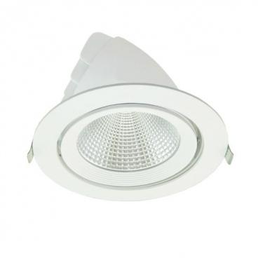 LED COB χωνευτό κινητό φωτιστικό οροφής 20W 60° 4000K (LINO2040)