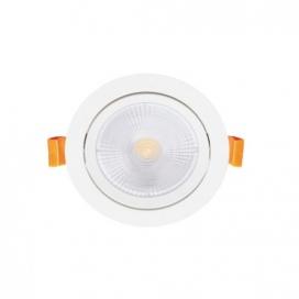 LED COB χωνευτό κινητό φωτιστικό οροφής 5W 24° 3000K (THEROB530R)