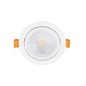 LED COB χωνευτό κινητό φωτιστικό οροφής 5W 24° 6000K (THEROB560R)