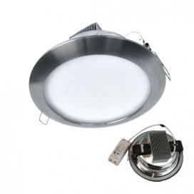 LED ΝΙΚΕΛ χωνευτό φωτιστικό οροφής 20W 120° 2700K (LUM2027S)