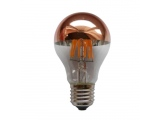 Λάμπα COG LED Half Rose Gold Vintage 6W E27 2700K Dimmable (VINTA6WWDIMG)