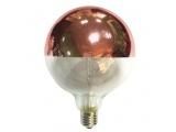 Λάμπα COG LED Half Rose Gold Globe Ø125 6W E27 2700K Dimmable (GLOBE1256WWDIMG)