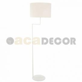 Aca Φωτιστικό Δαπέδου Λευκό (OD5622FW)