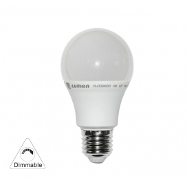 Λάμπα Led A60 8W E27 3000K Dimmable (13-27228009)