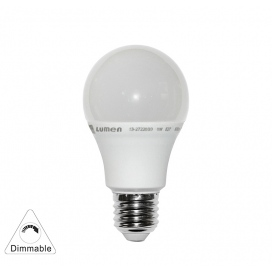 Λάμπα Led A60 8W E27 6200K Dimmable (13-2722809)
