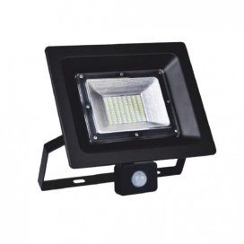 LED SMD προβολέας με αισθητήρα κίνησης LINUS MINI 50W 120° 4000K (LINUS5040S)