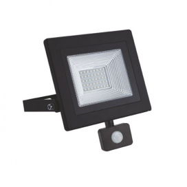 LED SMD προβολέας με αισθητήρα κίνησης X 30W 120° 4000K (X3040S)