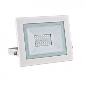 LED SMD Λευκός προβολέας X 30W 120° 3000K (X3030W)