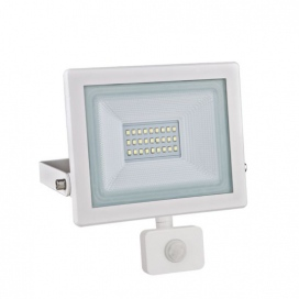 LED SMD Λευκός προβολέας με αισθητήρα κίνησης X 20W 120° 3000K (X2030WS)