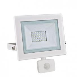 LED SMD Λευκός προβολέας με αισθητήρα κίνησης X 30W 120° 3000K (X3030WS)