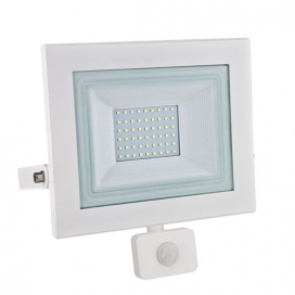 LED SMD Λευκός προβολέας με αισθητήρα κίνησης X 50W 120° 6000K (X5060WS)
