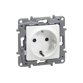 Legrand Niloe Πρίζα Σούκο Ασφαλείας 16A 230V Λευκή (764529)