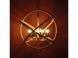 Aca Vintage Πολύφωτο Φωτιστικό Οροφής (563808PCR)