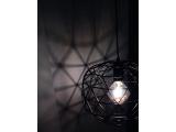 Aca Vintage Μονόφωτο Φωτιστικό Οροφής Μαύρο (KS180430PB)