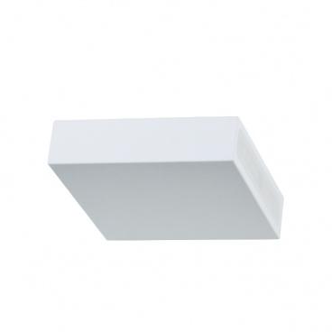 Aca Led Απλίκα Λευκή 3000K (L36310100B)