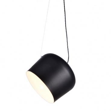 Aca Φωτιστικό Οροφής Μαύρο (OD8002BK)