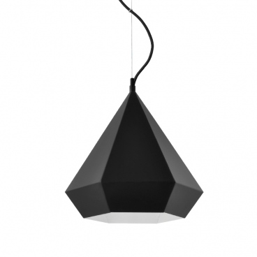 Aca Φωτιστικό Οροφής Μαύρο (V36049BK)