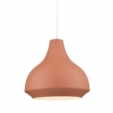 Aca Φωτιστικό Οροφής Terracota (KS080335KH)