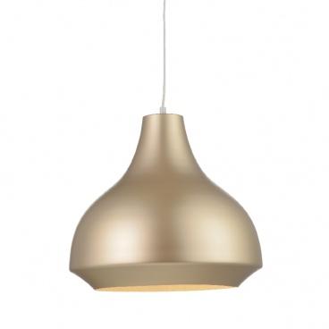 Aca Φωτιστικό Οροφής Χρυσό - Μπρονζέ (KS080335GT)