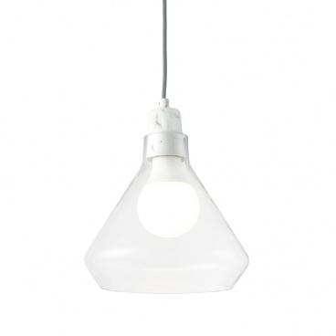 Aca Φωτιστικό Οροφής στο χρώμα Λευκού Μαρμάρου (V36035MR)