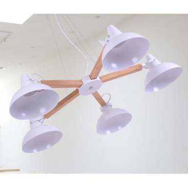 Luma Μοντέρνο Πεντάφωτο Φωτιστικό Οροφής
