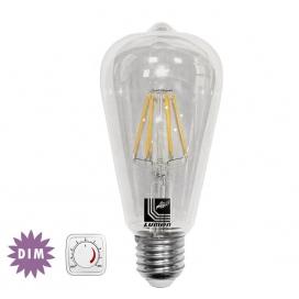 Λάμπα Cog Led Edison 6W E27 2800K Dimmable