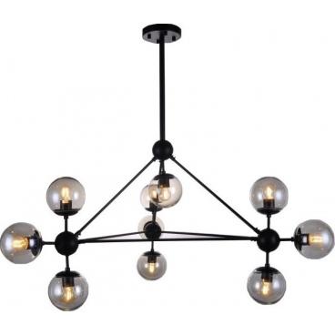 Luma Μοντέρνο Πολύφωτο Φωτιστικό Οροφής 10-Φώτων (114-01068-04)