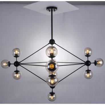 Luma Μοντέρνο Πολύφωτο Φωτιστικό Οροφής 15-Φώτων (114-01068-05)