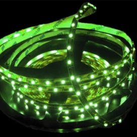 Αδιάβροχη SMD LED λωρίδα 14.4W/m 12V Πράσινο (505060GPC)