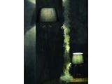 Aca Φωτιστικό Δαπέδου Μαύρο (AD80281F)
