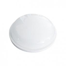 Aca LED SMD επίτοιχη απλίκα & πλαφονιέρα Λευκή 15W 3000Κ (DAMAS1530W)
