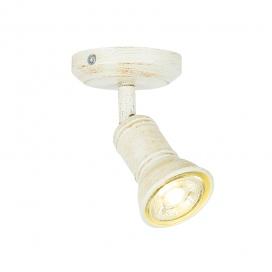 Aca Spot Οροφής Λευκό Αντικέ (SU281PAW)