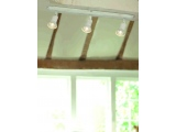 Aca Spot Οροφής 3 Φώτων Λευκό Αντικέ (SU283EPAW)