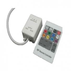 Mini RGB Controller με τηλεχειριστήριο RF 12V 72W - 24V 144W (RF20)