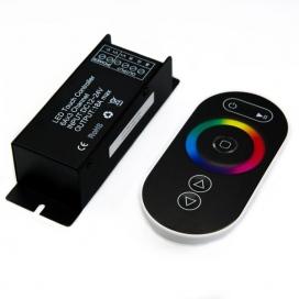 RGB Power Controller με τηλεχειριστήριο αφής RF 12V 216W - 24V 432W (SZ100-TOUCH)