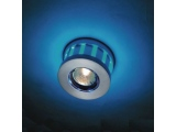 Aca LED DIP χωνευτό σποτ οροφής 12 LED BLUE (GL810001)