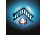 Aca LED DIP χωνευτό σποτ οροφής 16 LED BLUE (GL810002)