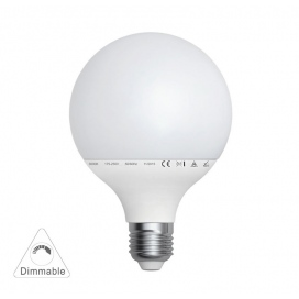 Λάμπα Led Globe 15W E27 6200K Ø95 Dimmable (13-272951509)