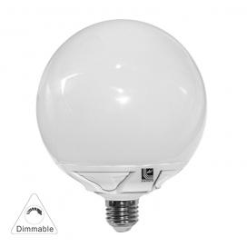 Λάμπα Led Globe Αλουμινίου 20W E27 6200K Ø125 Dimmable (13-271252009)